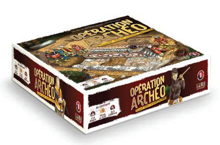 Opération Archéo, le Jeu de société coopératif sur l'Archéologie