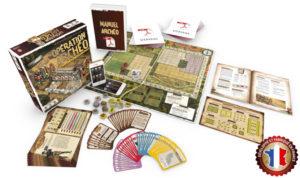 Opération Archéo est un jeu de société coopératif sur l'archéologie