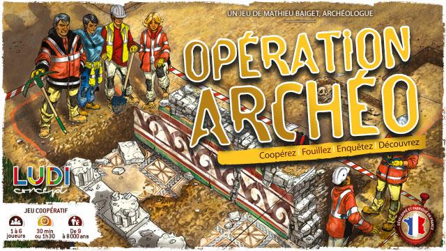 Le jeu de société coopératif Opération Archéo permet de découvrir l'archéologie en s'amusant